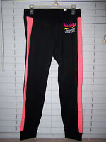 Justice Active Soft Hockey Leggings Girl's Size 20 Black/coral