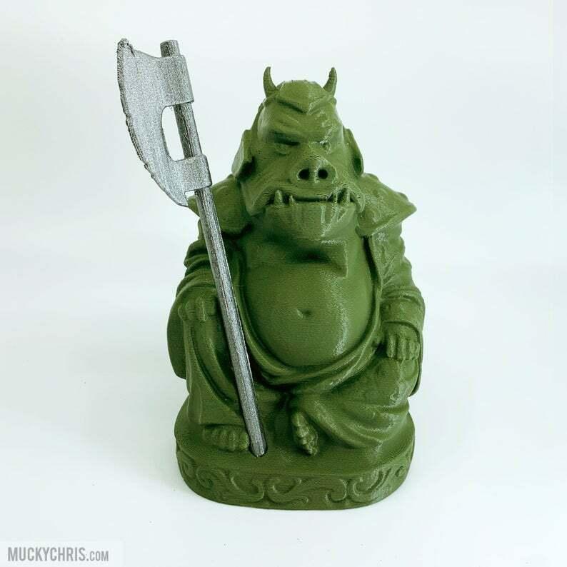 Gamorrean Guard Buddha   Stern Wars   Return of the Jedi