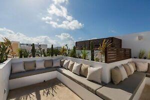 SE VENDEN departamentos y penthouses de 1 recamara en centro Playa Del Carmen ideal para inversion