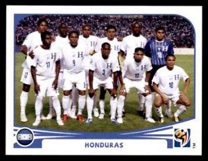 Panini WM 2010 Honduras Mannschaft Team Complete Set World Cup WC 10