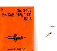 Old Stock Enicar 184 3 Balance Staffs Watch Part