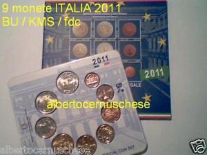 2011-9-monete-5-88-EURO-ITALIA-BU-ITALIE-150-unita-ITALIEN-Italy
