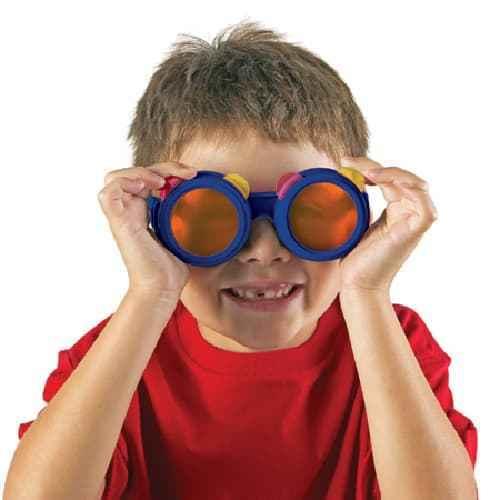 Occhiali a lenti colorate intercambiabili