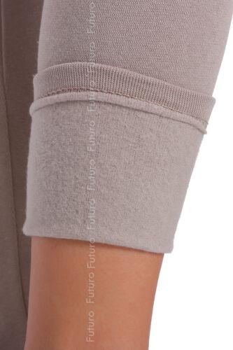 Winter Dick Schwer Extra Warm Bodenlang Baumwolle Leggings Fleece Thermo Nap P28