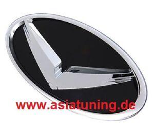 Adler-Emblem-vorne-Grill-Hyundai-i40-2011-2015-Tuning-Zubehoer-schwarz-chrom