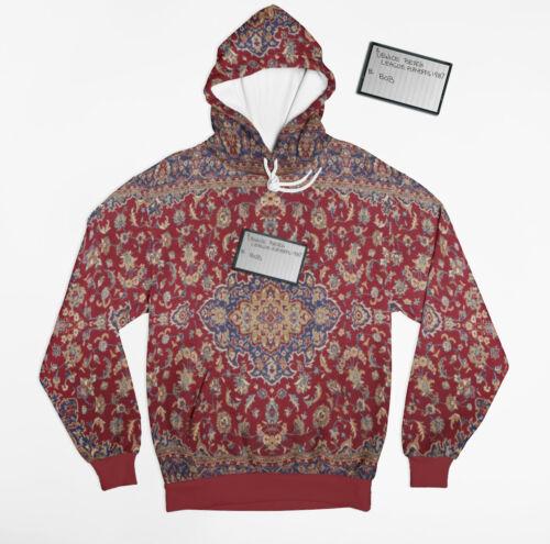The big lebowski dude/'s Bowling league tape on rug hoodie warm fleece material