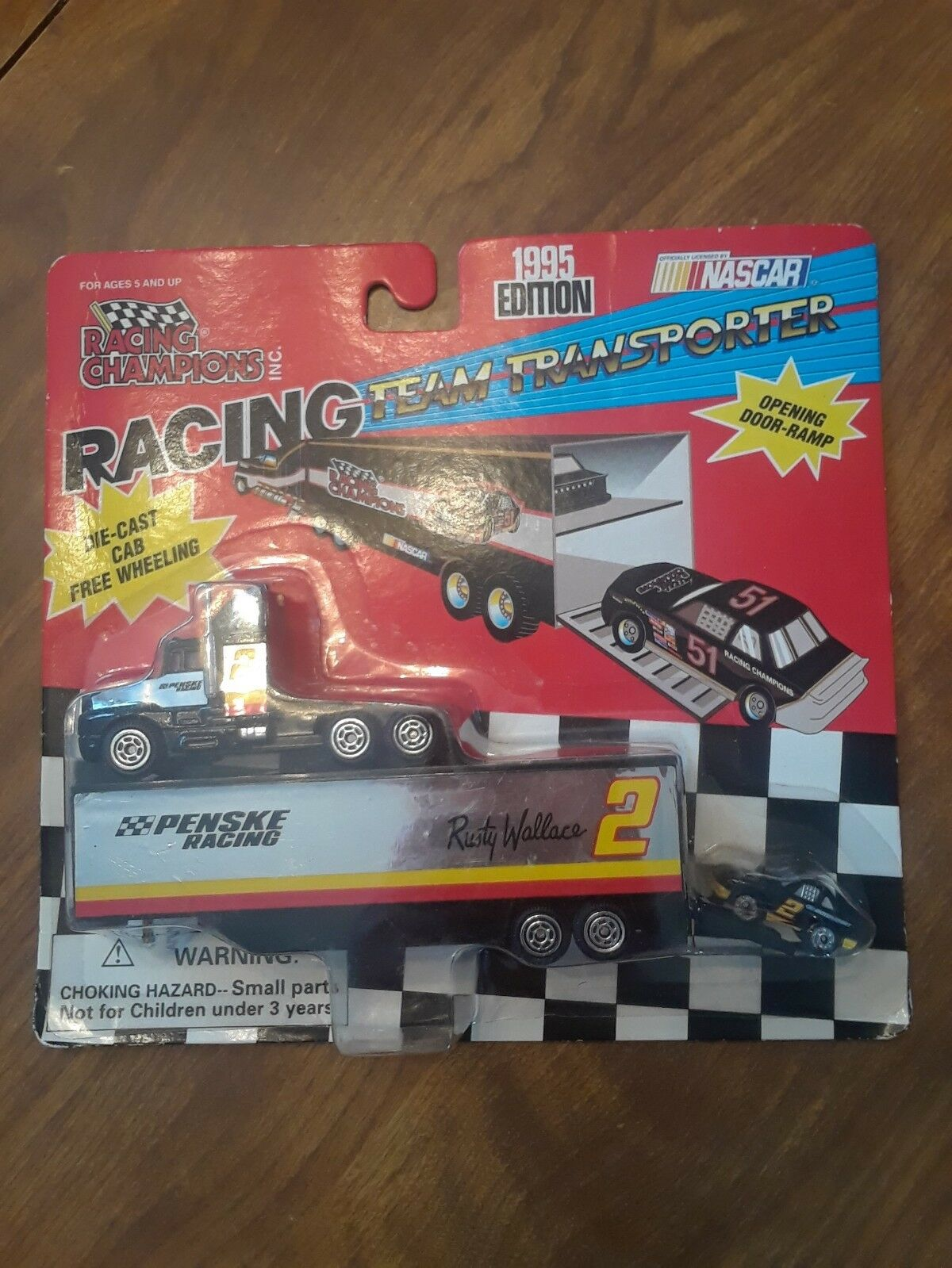 Racing Champions Rusty Wallace Team Transporter-1995 New