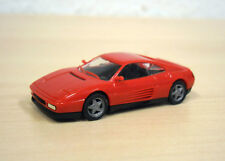 "Herpa-ferrari 348 TB ""HighTech"" - rojo-calendario de Adviento 1993 o 1995 - 1:87"