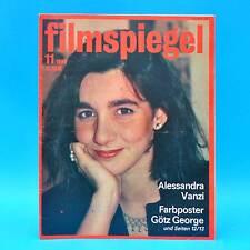 DDR Filmspiegel 11/1986 Götz George Victor Lanoux Ruth Leuwerik Marie Gruber C