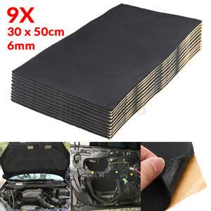 9x-6mm-Tappetino-Fonoassorbente-Schiume-Isolante-Per-Isolamento-Termico-Auto