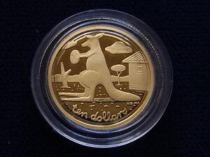 Australia-2008-1-10oz-Gold-Proof-Kangaroo-Artist-Series-Mombassa