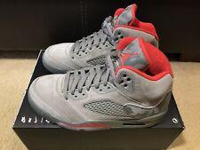 sale retailer 2b541 82790 Nike Air Jordan 5 Retro Reflective Camo Men s sz 7.5 Dark Stucco Red 136027  051