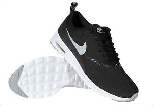 Details about NEW Nike Air Max Thea Women's Running Shoes Black Grey White 599409 007 Size 9
