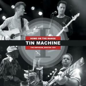 DAVID-BOWIE-amp-Tin-Machine-HOME-ON-THE-RANGE-180g-RED-VINYL-Lp-LTD