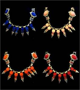 eed7cd7ba1dd FASHION JEWELLERY STONE TRIBAL STYLE STATEMENT NECKLACE  CHOOSE YOUR ...