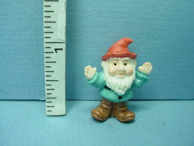 #A4529-1//12th Scale Made of Resin Dollhouse Miniature Garden Gnome small