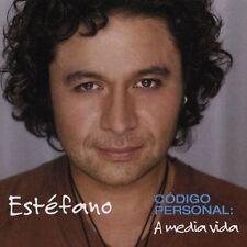 Estefano : Codigo Personal: A Media Vida CD