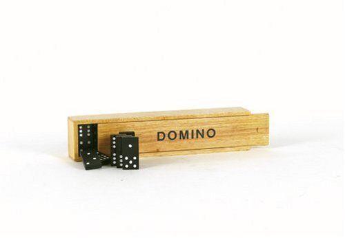 Holz-Domino in Neu+OVP Holzbox  Neu+OVP in  Kult Reisespiel 6c8293