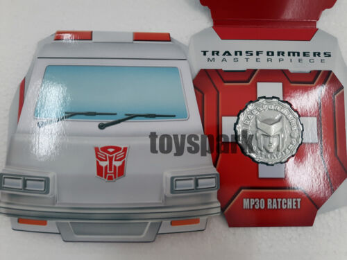 EXCLUSIVE COIN for Takara Tomy Transformers Masterpiece MP-30 RATCHET autobot