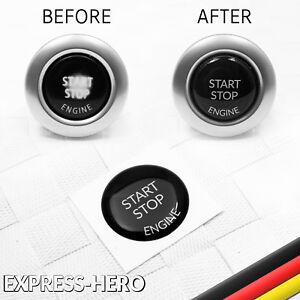 BMW-Start-Stop-Engine-Knopf-Reparatur-Taste-Schutz-Austausch-Ersatz-Aufkleber