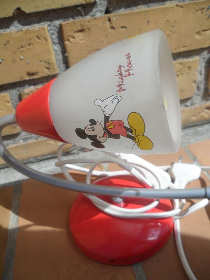 Lampe, Mickey Mouse lampe / sengelampe