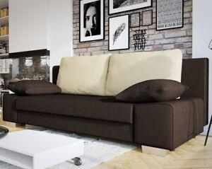 Couch Arles Schlaffunktion Polstersofa Bettkasten Bettfunktion Sofa Webstoff