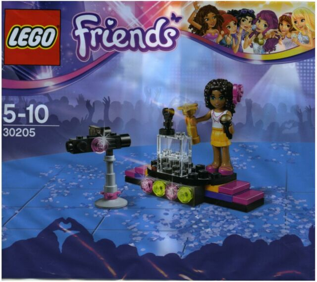 LEGO POLYBAG Friends 30205 Pop Star Singer Stage Minifigure ANDREA New Sealed