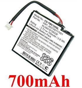 Batterie-700mAh-type-6027A0117401-KM1-XLHS416-08338-Pour-TOMTOM-Via-Live-125