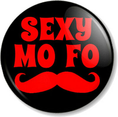 "Movember 25mm 1"" Pin Button Badges Moustache 25 designs Tash Novelty Quirky Fun"