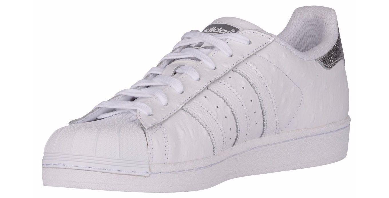 Adidas superstar leder schuhe, weiße turnschuhe männer shell neue niedrig s80341 größe 13 neue shell d46696