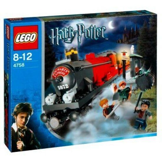 LEGO 4758 - HARRY POTTER Hogwarts Express (2nd Edition) -  2004 - ORIGINAL BOX  grosses économies