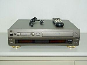 JVC-SR-VS10-High-End-miniDV-S-VHS-ET-Videorecorder-inkl-FB-2J-Garantie