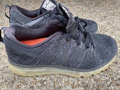 Nike Flyknit Max Black Dark Grey