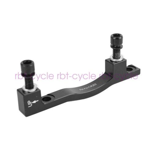MTB Bike Disc Brake Caliper Adapter Post Mount PM 203mm Rotor Fits Front Rear