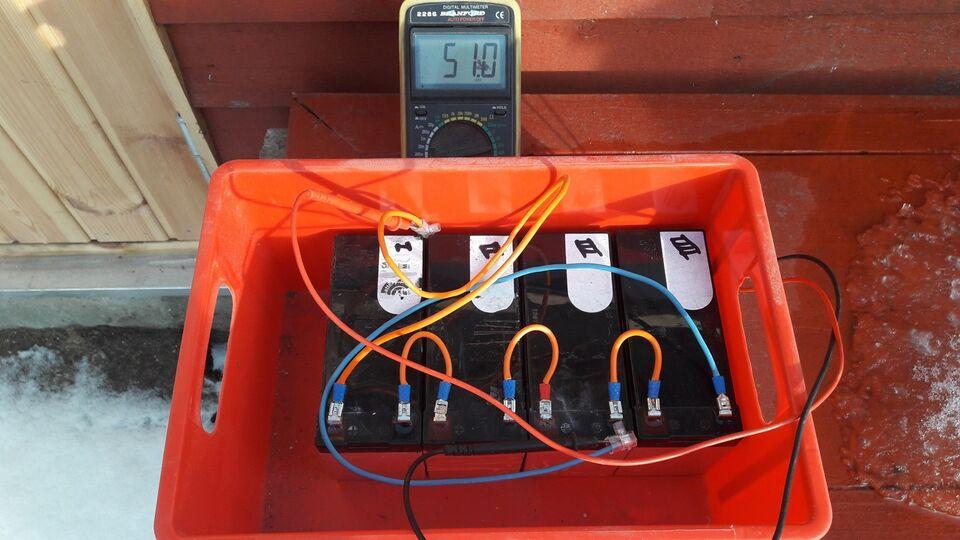 Gelebatteri 12v7.2Ah