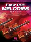 Easy Pop Melodies for Viola (Book/CD) by Hal Leonard Corporation (Paperback, 2014)