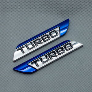 1x Metal Chrome Silver Huge V6 Badge Emblem Sticker Sports Engine Decal 3D Turbo