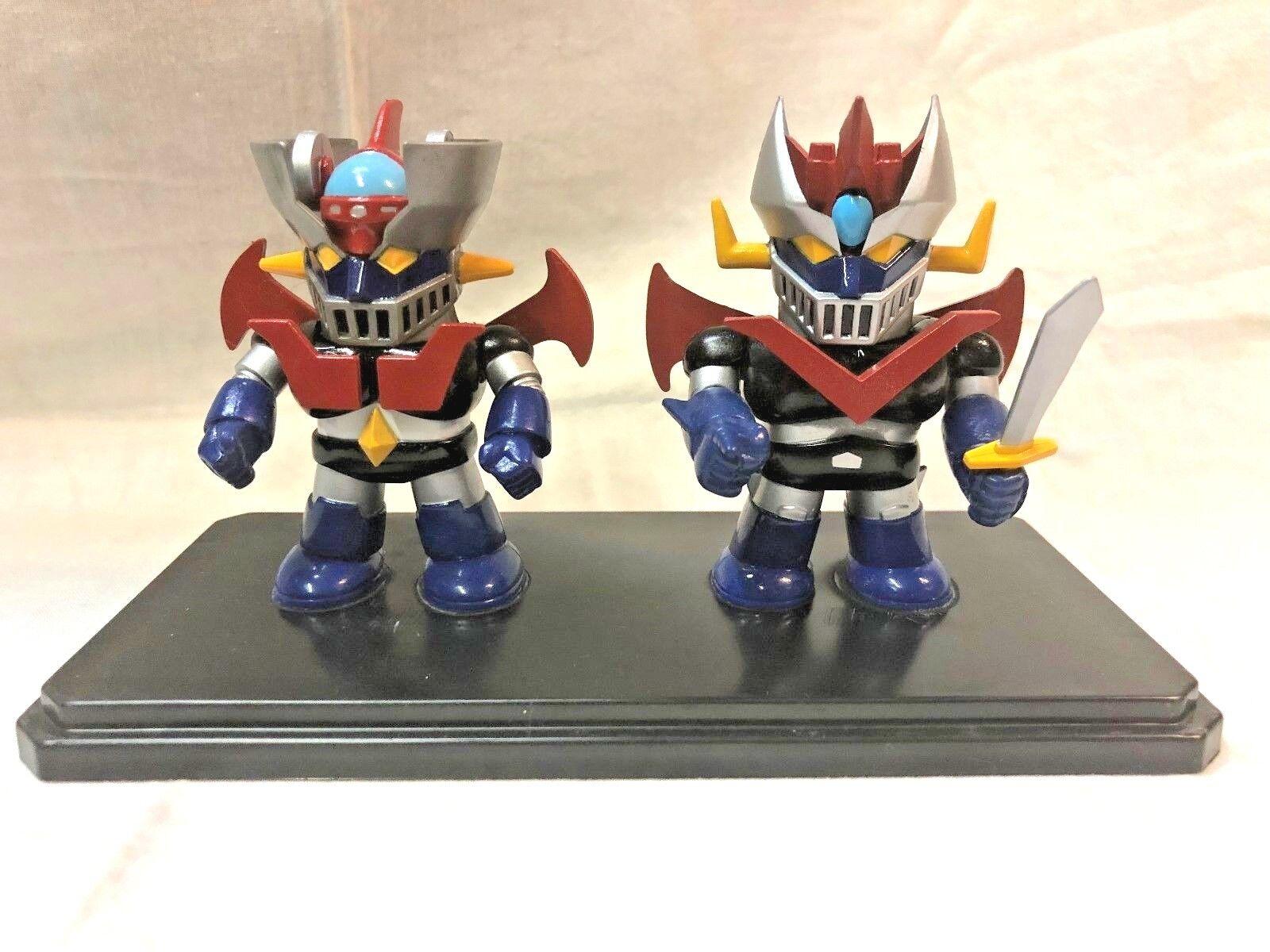 2 Action Figures Super Robot Robot Robot Wars Deformed MAZINGA + MAZINGA Z  MAZINGER Nagai 0c984c