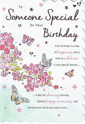 Incredible Stunning Modern Design And Beautifully Worded Someone Special Funny Birthday Cards Online Unhofree Goldxyz