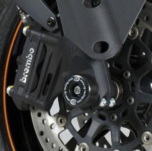 KTM-690-SMCR-2015-R-amp-G-RACING-PROTEZIONI-per-Forcella-FP0148BK-Nero