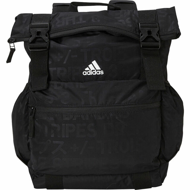 adidas Women s Yola Backpack Black Emboss black white Yoga Bag  5145403 for  sale online  6e87a2e330c1b