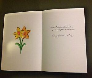 Mère's jour carte inserts x 10  </span>