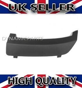 FORD FIESTA MK7 REAR BUMPER TOW TOWING EYE HOOK COVER CAP 2008 ONWARDS