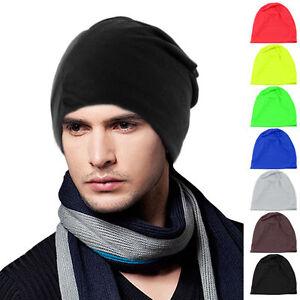 Unisex-Women-Men-Knit-Winter-Warm-Ski-Crochet-Slouch-Hat-Cap-Beanie-Oversized-ir
