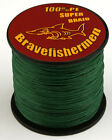 CN Dark Green Dyneema Spectra Fishing Braided Line 100M/300M/500M/1000M 6-100 LB