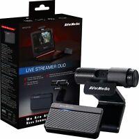AVerMedia Live Streamer DUO Webcam Bundle