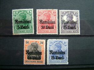 Antique German WW1 stamps postal ephemera letters old stamp collection philately