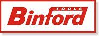 Binford Red Aluminum Sign 18x6