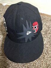Quiksilver Lucia Libre Baseball Cap Hat  7 1/4 59 Fifty New Era Black GXN