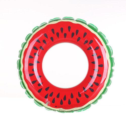 70//90//120cm gonfiabile adulto bambino bambina Anguria Swim Ring Piscina Toys